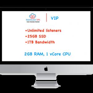 Internet Radio Cast on VPS - VIP Package