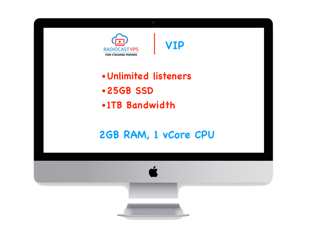 Internet Radio Cast on VPS - VIP Package