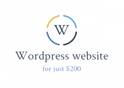 Wordpress Website for just $200 partners with Radio Cast on VPS