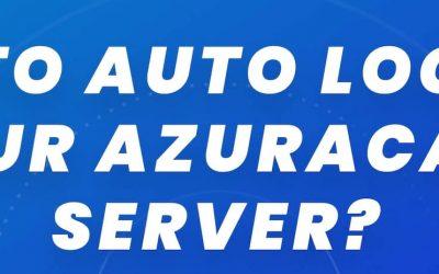 Video tutorial: Auto Login to your Azuracast server