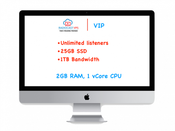 Azuracast Radio Streaming server - VIP Package